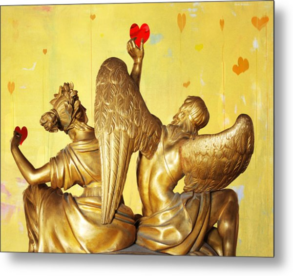 Love's Angel  C2014 Metal Print