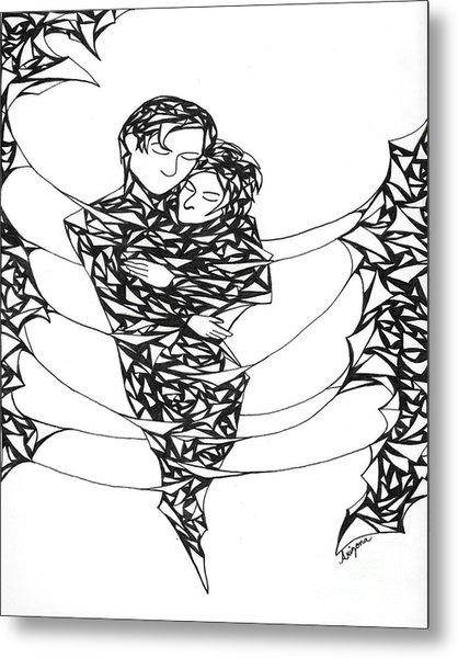 Love's Embrace Metal Print