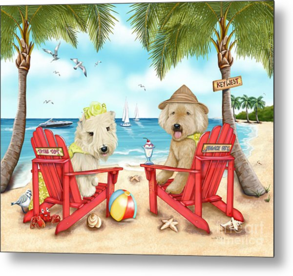 Loving Key West Metal Print