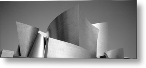 Low Angle View Of A Building, Walt Metal Print