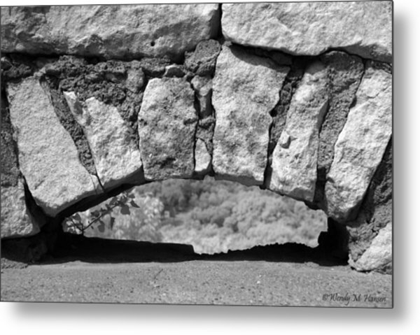 Low Arch Metal Print by Wendy Hansen-Penman