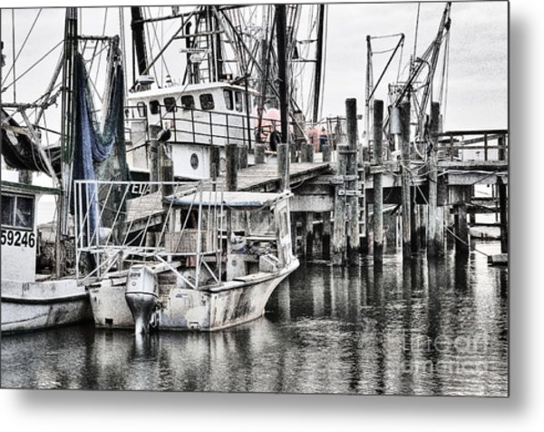 Low Country Small Craft Metal Print
