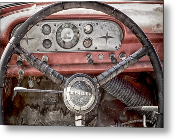 Low Mileage Mercury Metal Print