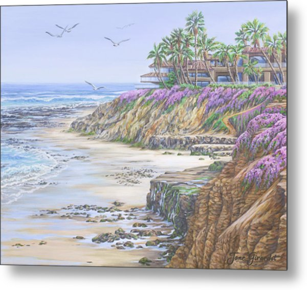 Low Tide Solana Beach Metal Print