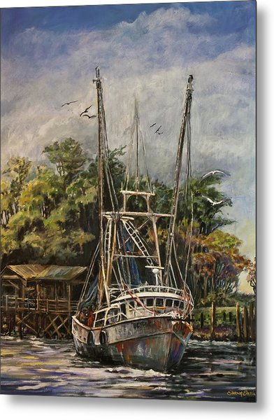 Lowcountry Veteran Metal Print