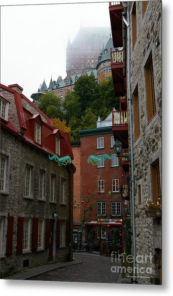 Lower City Quebec Metal Print