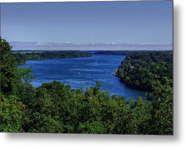 Lower Niagara River Metal Print