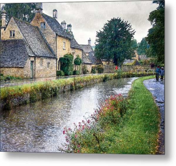 Lower Slaughter Metal Print