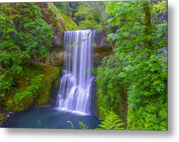 Lower South Falls Metal Print