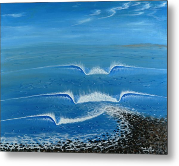 Lower Trestles Metal Print