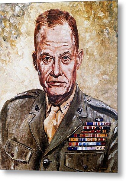 Lt Gen Lewis Puller Metal Print