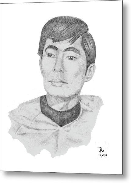 Lt. Sulu Metal Print