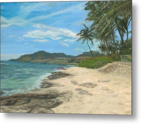 Lualualei Beach Metal Print