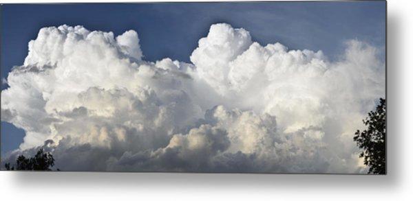 Lubbock Cloud Formation Metal Print