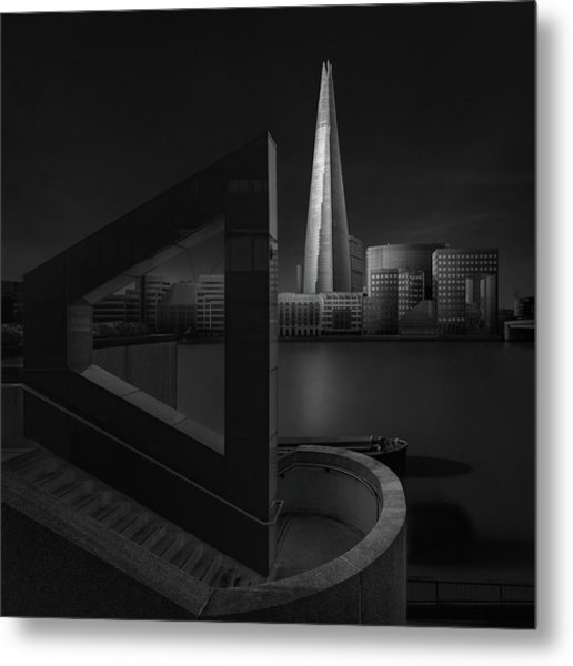 Lucid Dream I - The Shard Metal Print by Oscar Lopez