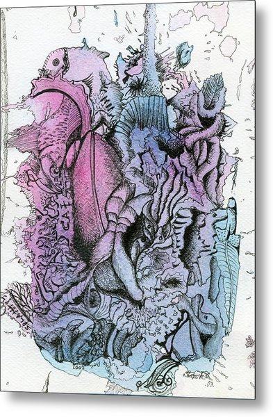 Lucid Mind - 10 Metal Print