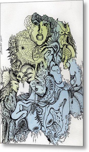 Lucid Mind - 2 Metal Print