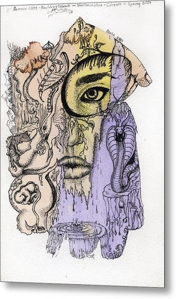 Lucid Mind - 5 Metal Print