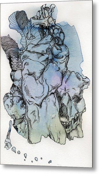 Lucid Mind - 8 Metal Print