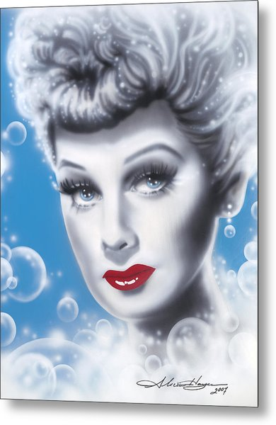 Lucille Ball Metal Print by Alicia Hayes