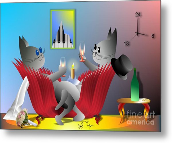 Lucy's Great Day Metal Print