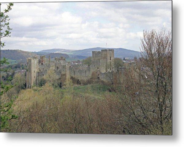 Ludlow Castle Metal Print