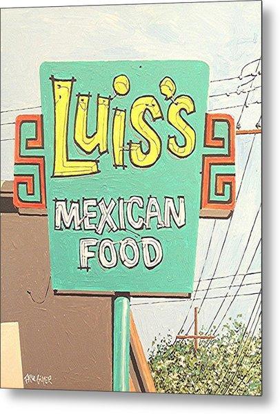 Luis's Metal Print by Paul Guyer