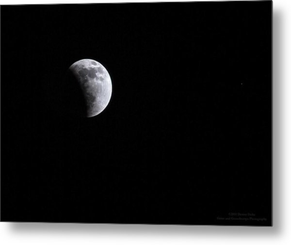 Lunar Night By Denise Dube Metal Print