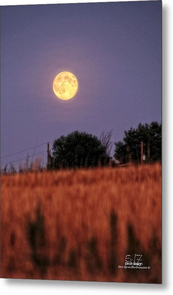 Lunar Light Lifting Metal Print by Dan Quam