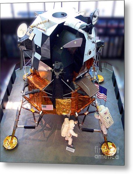Lunar Module Metal Print