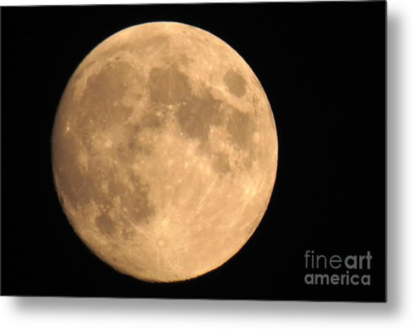 Lunar Mood Metal Print