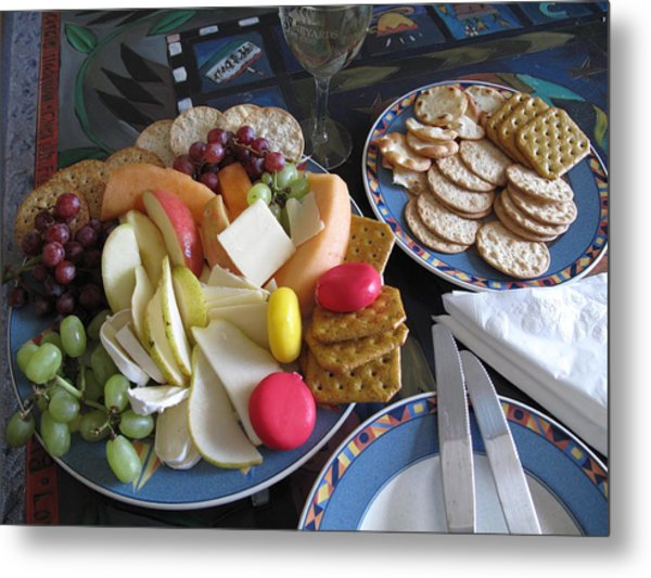 Lunch Metal Print