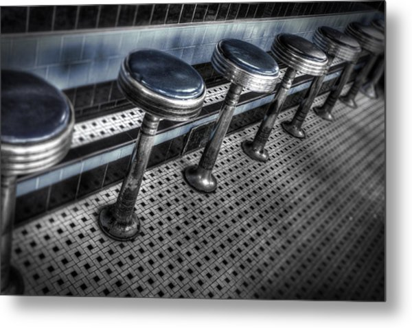 Lunch Counter Metal Print