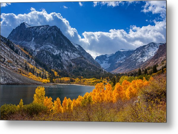 Lundy Lake Metal Print
