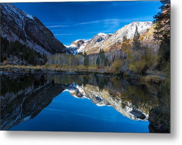 Lundys Reflection Metal Print