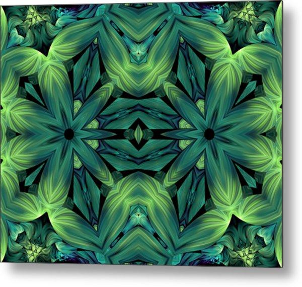Luscious Greenery Metal Print