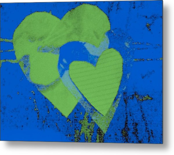 Luv-2 Metal Print by Dorothy Rafferty