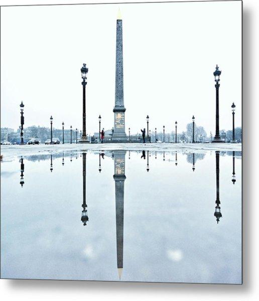 Luxor Obelisk On The Place De La Metal Print by Gerard Trang / Eyeem