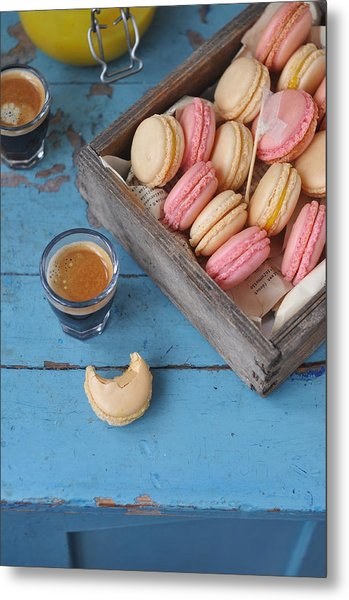 Macarons Metal Print by Photos By Irina Meliukh