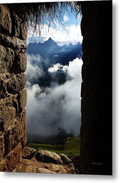 Machu Picchu Peru 4 Metal Print