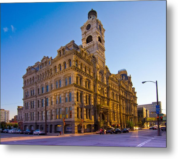 Mackie Building Metal Print by Anthony Sell