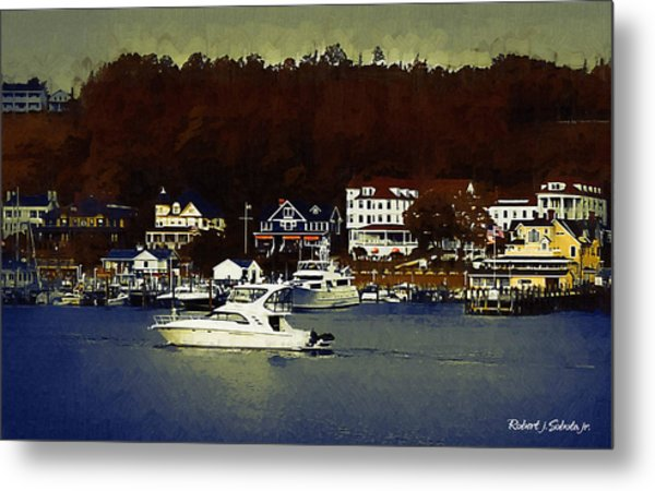 Mackinac Island Arrival Painting By Robert Sobota