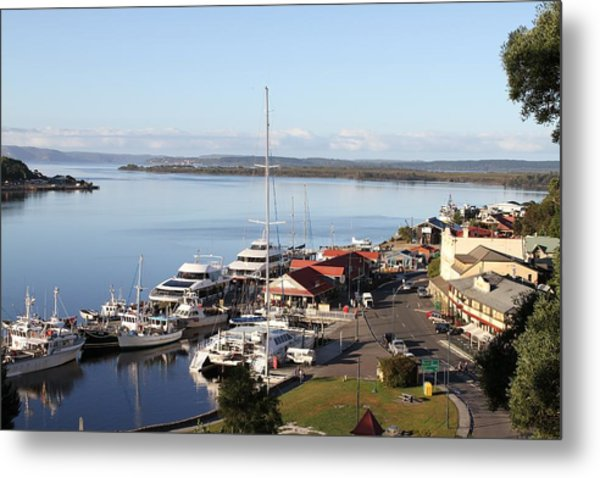 Macquarie Harbour Tasmania All Profits Go To Hospice Of The Calumet Area Metal Print