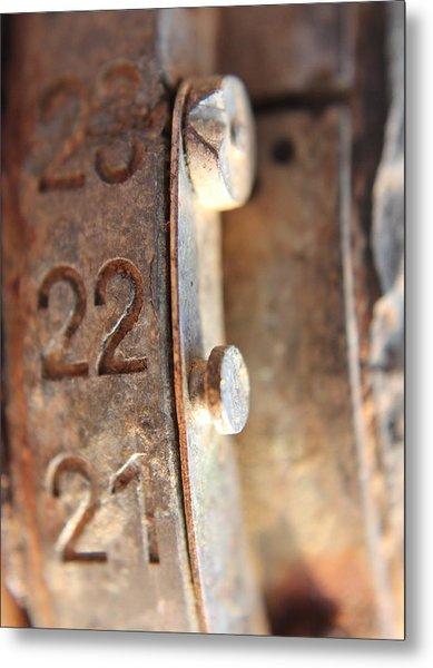 Macro Enigma Metal Print