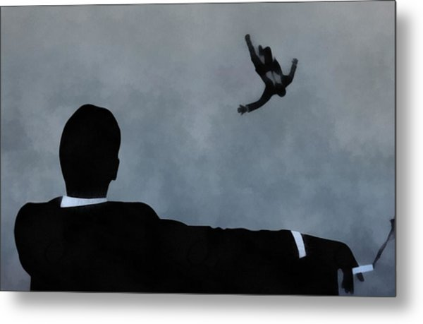 Mad Men Art Metal Print