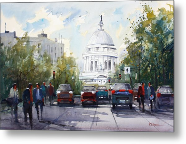 Madison - Capitol Metal Print