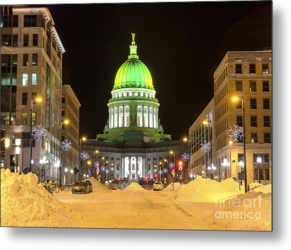Madison Capitol Metal Print