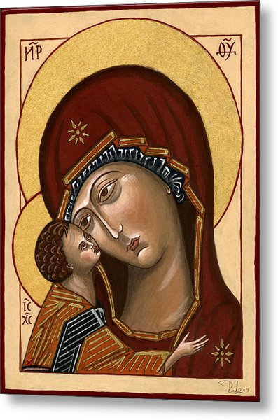 Madonna Della Tenerezza - Our Lady Of Tenderness Metal Print