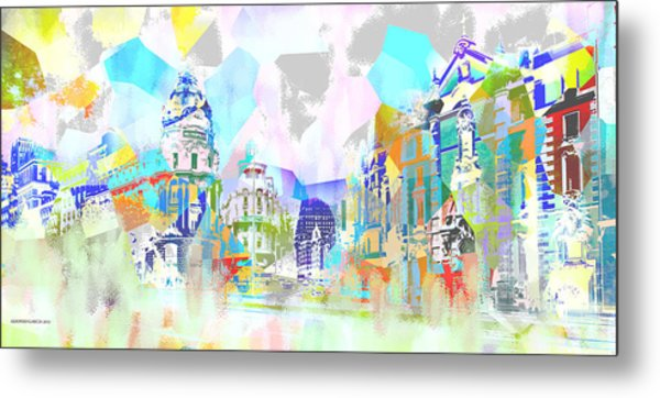 Madrid 1 Metal Print