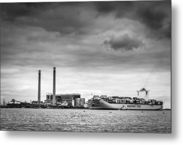 Maersk Laberinto. Metal Print
